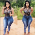 Lady With Big Hips Causes Commotion Online After These Pics Of Her Went Viral