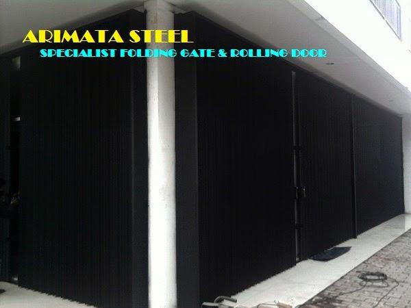 gambar untuk harga pasang folding gate di jakarta selatan