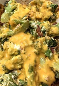Crack Keto Broccoli and Cheese #KETO #LOWCARB #EASY #HEALTHY