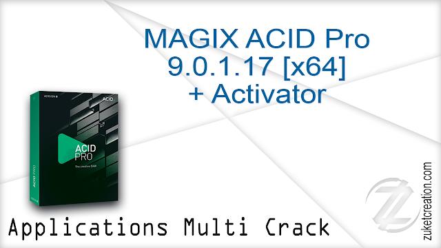 MAGIX ACID Pro 9.0.1.17 [x64] + Activator   |    493 MB