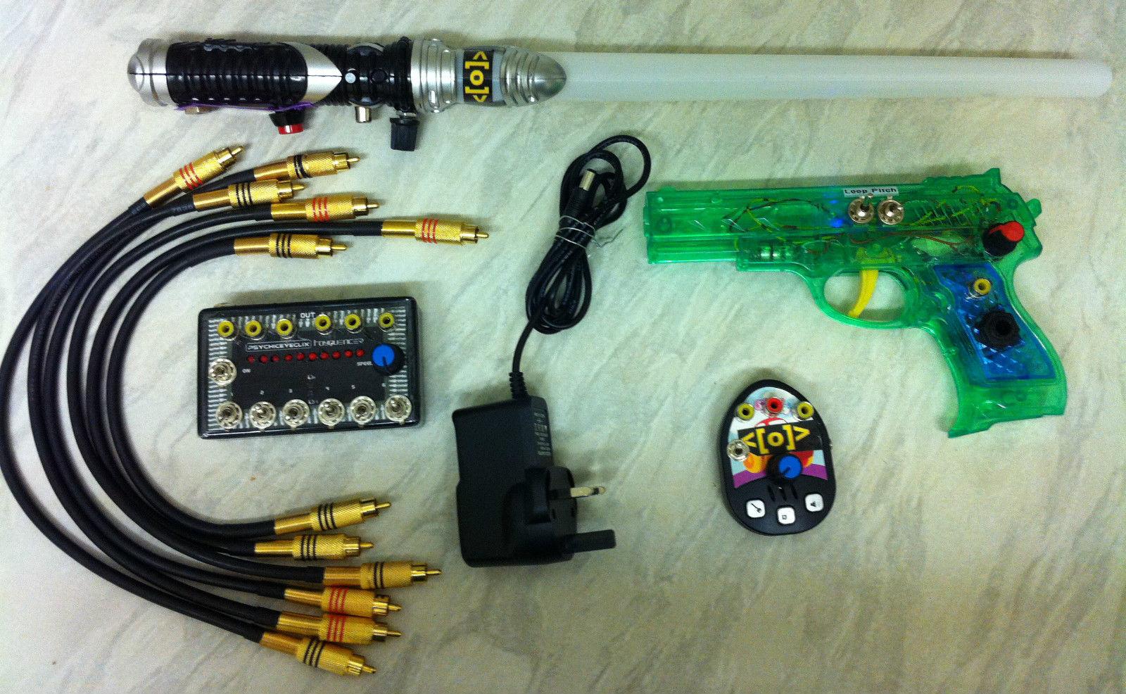Circuit Bent Toy Gun Fx Synth Noise Drone Glitch Ebay