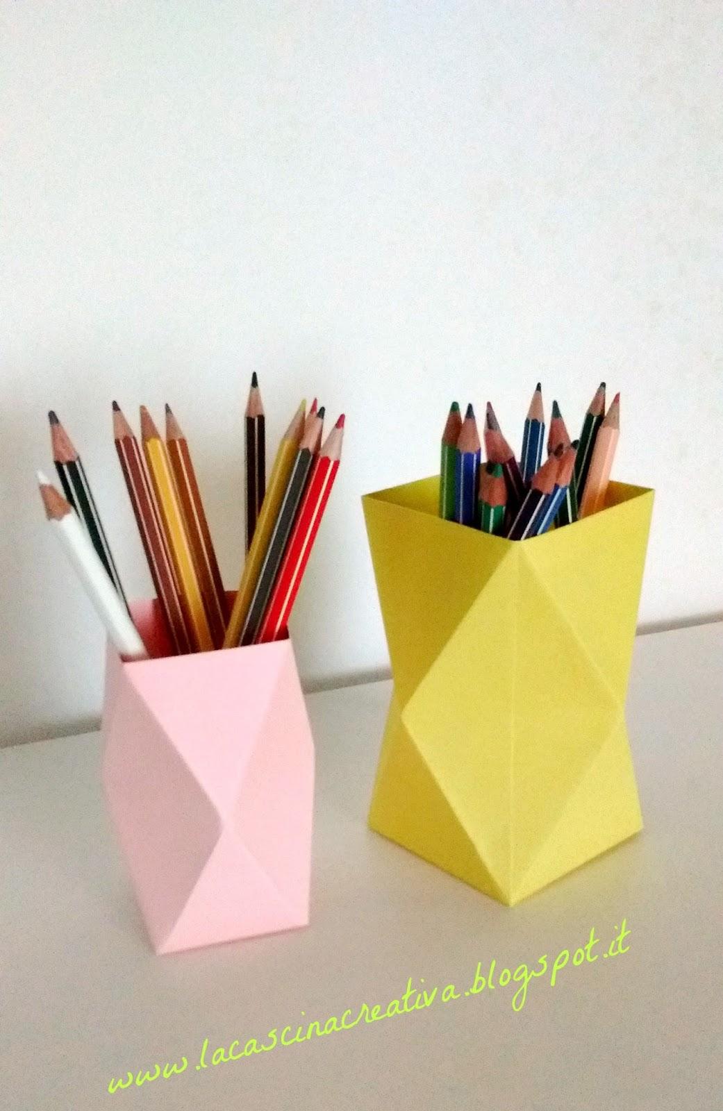 La cascina creativa portapenne o lanterne - Portapenne ikea ...