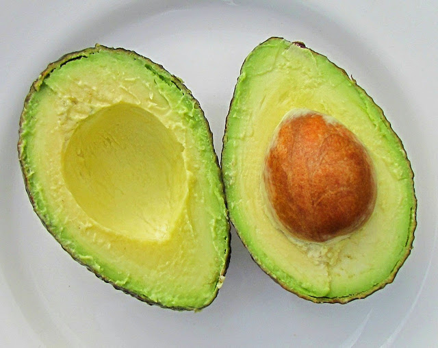 Avocado Cut Open