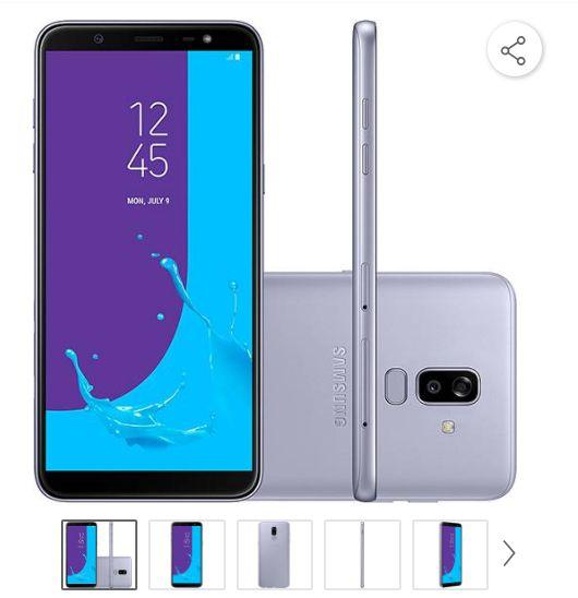 Comprar Smartphone Samsung Galaxy J8 64GB Dual Chip em Promoção