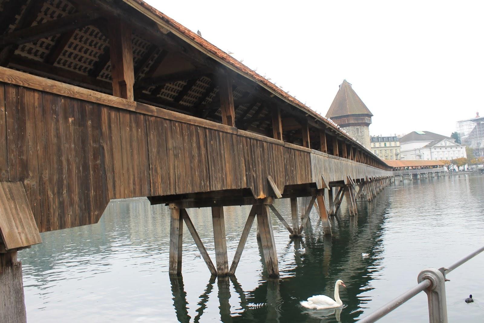Kappelbrücke ou Ponte da Capela - Luzern
