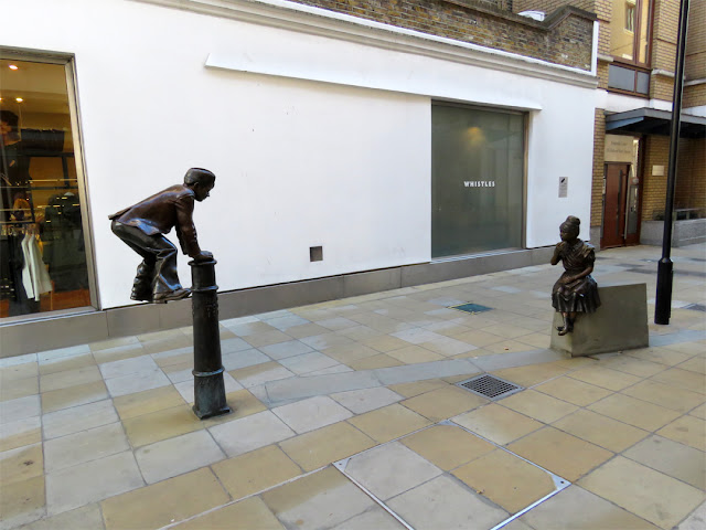 """My Children"" by Allister Bowtell, Duke of York Square, Chelsea, London"