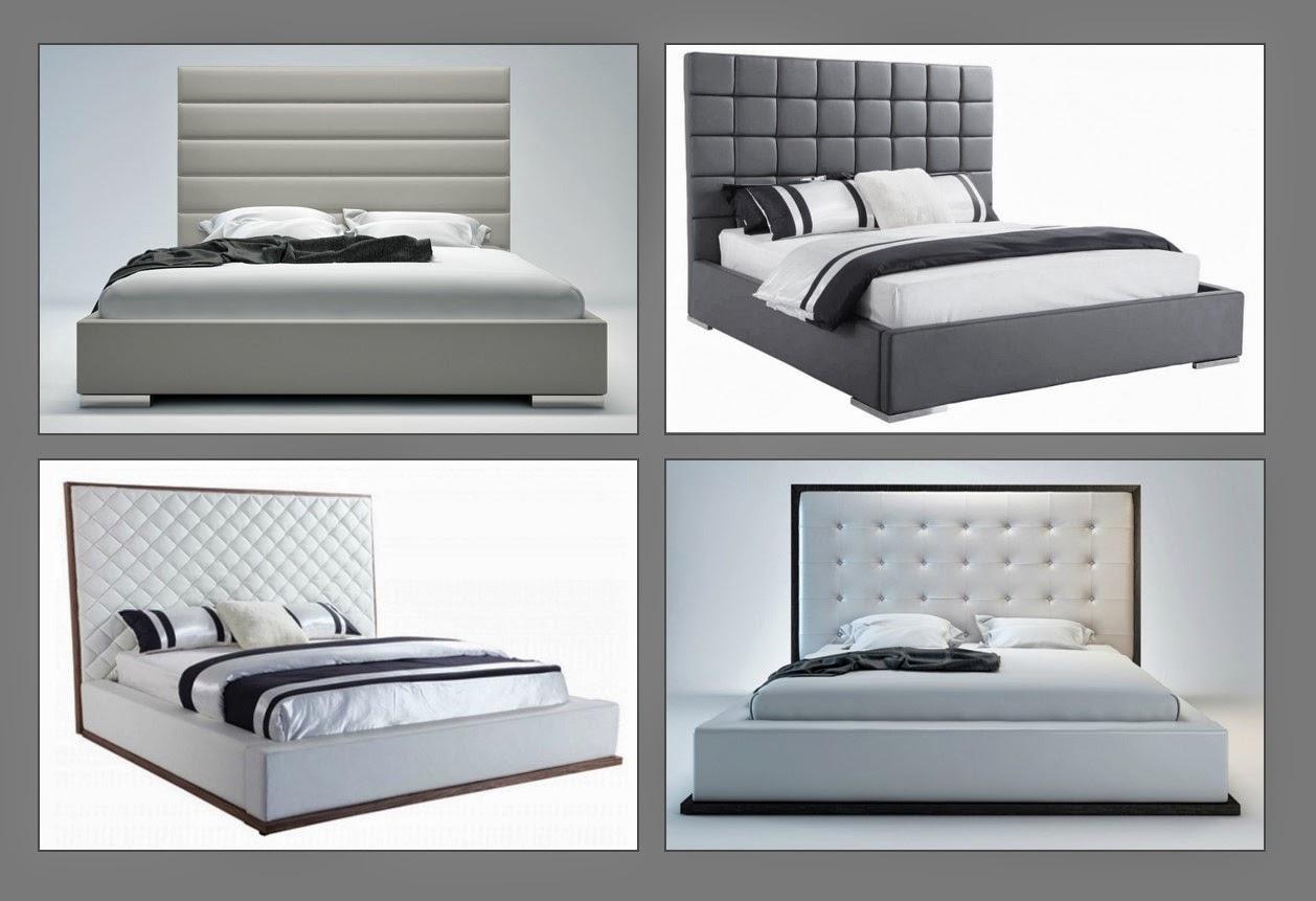 Sobe Furniture Modern Platform Beds