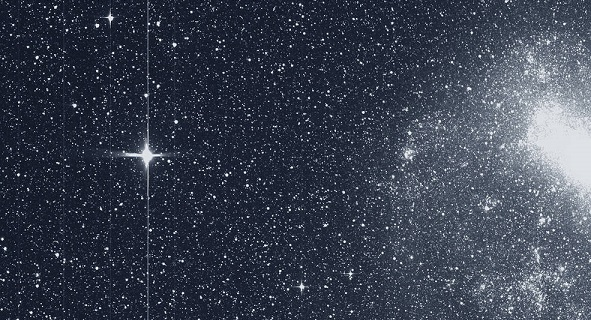 tess spacecraft shares first science image in hunt to find new worlds