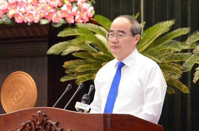 Bí thư Thành ủy TP.HCM Nguyễn Thiện Nhân phát biểu bế mạc