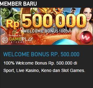 judi online | welcome bonus | bonus deposit | freebet poker