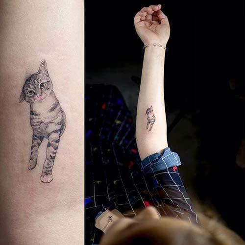 kedi dövmeleri cat tattoos 22