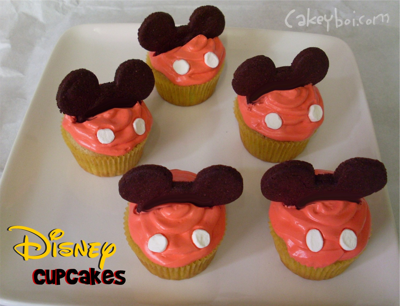 Disneyland Minnie Birthday Cakes