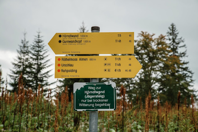 Ruhpolding  - Hörndlwand  Wandern Bayerische Alpen  Wanderung-Ruhpolding  Bergtour-Bayern  Wandern-im-Chiemgau 06