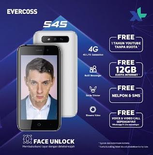 Cara Flashing Evercoss S45 Via QGDP Single Port