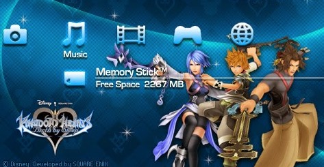Game Kingdom Hearts Birth By Sleep PPSSPP Android