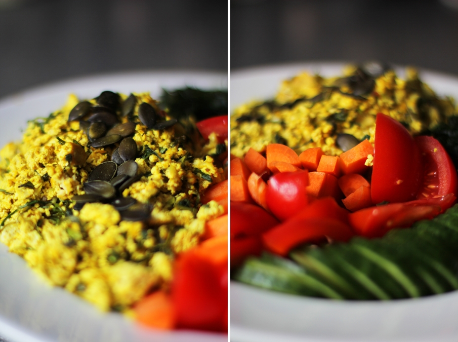 rührei vegan gesund protein