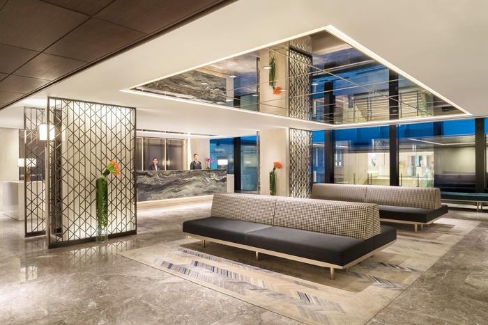 Marco Polo Prince Hotel Lobby