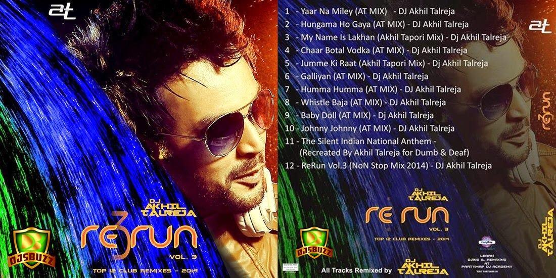 ReRUN VOL.3 2014 BY DJ AKHIL TALREJA