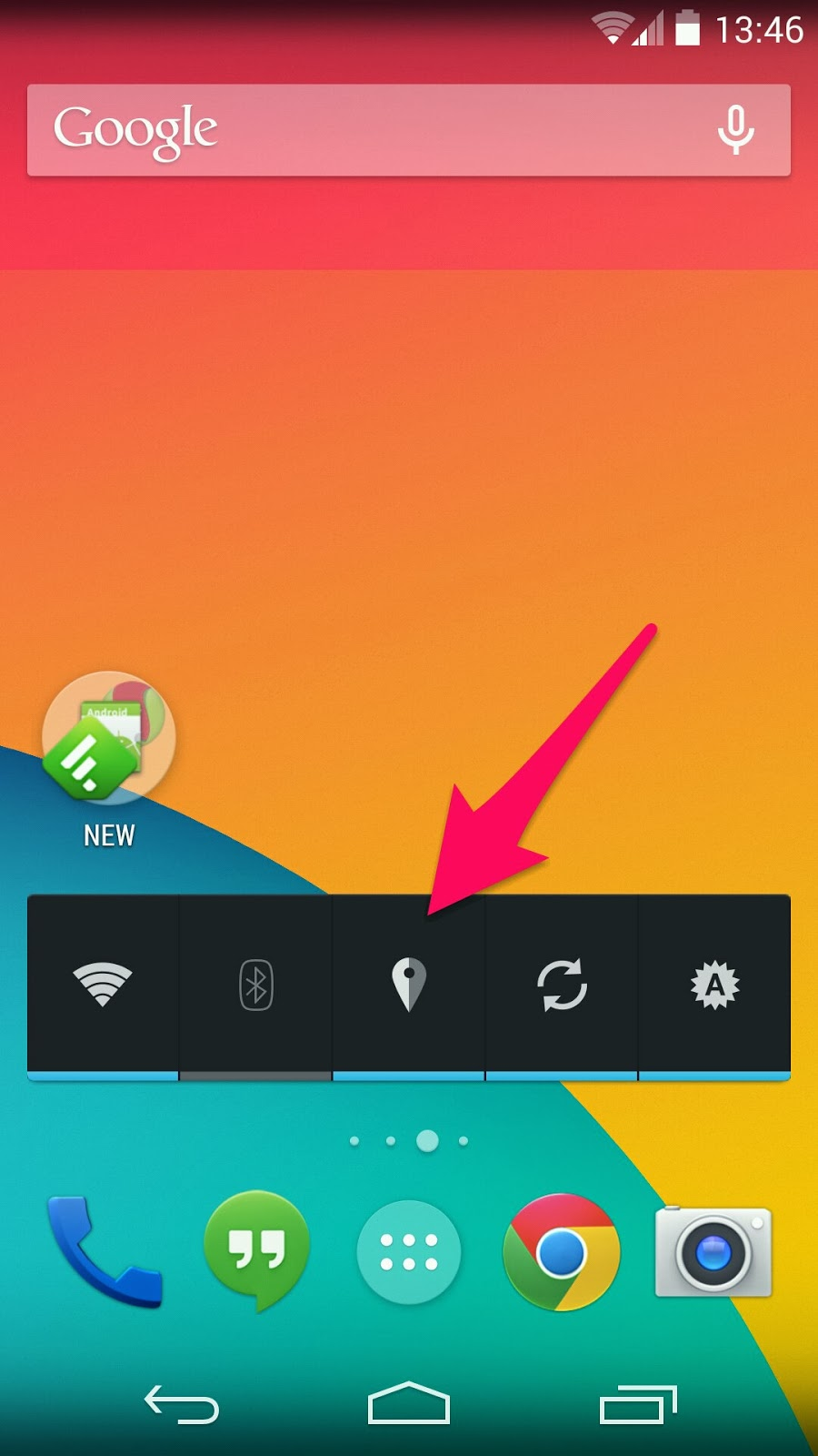 how to fix gps on android kitkat