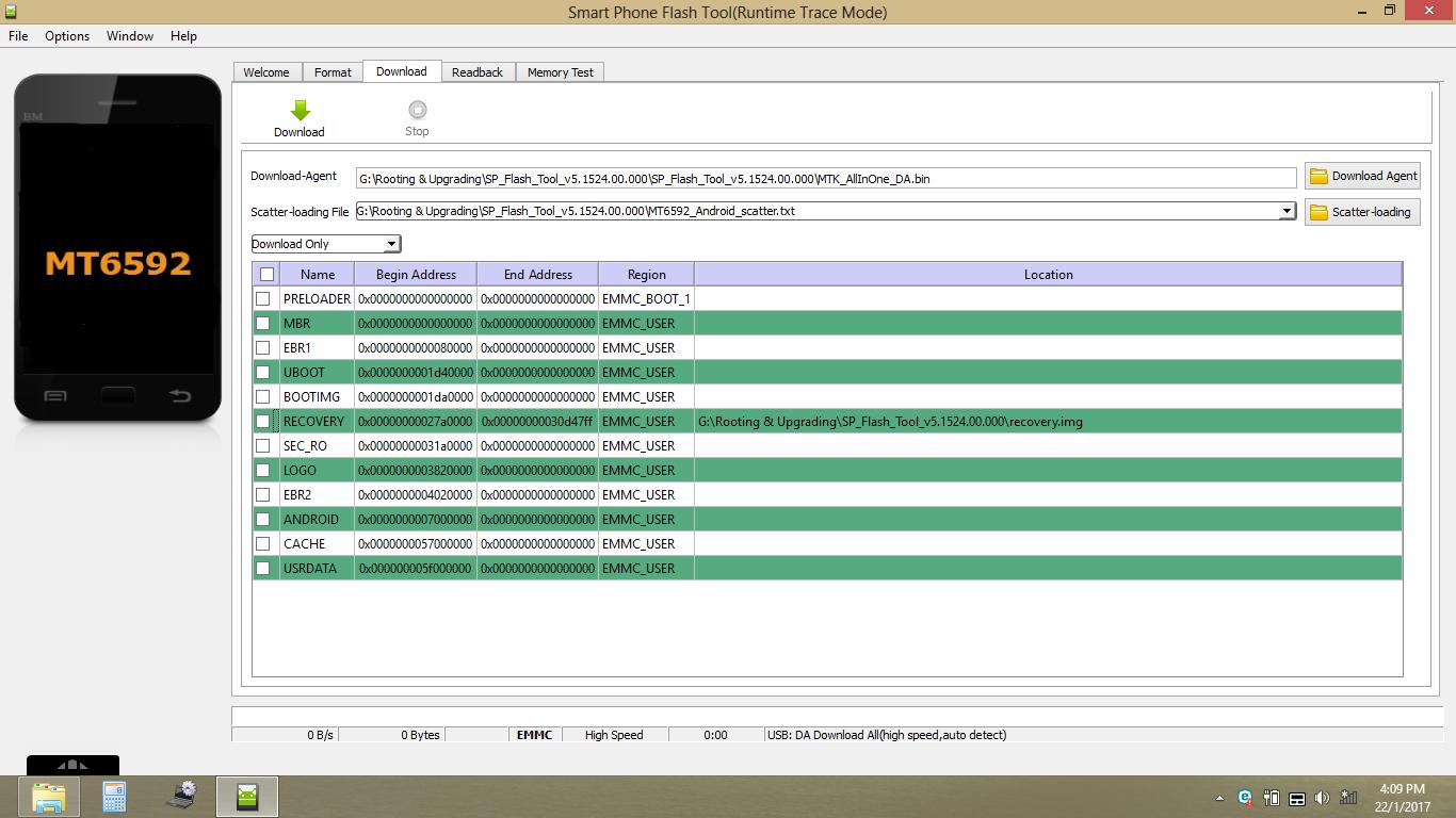 All MTK Mediatek Scatter Files
