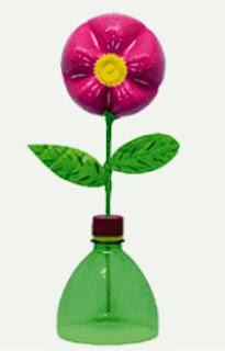 http://manualidadesparaninos.biz/flores-con-botellas-de-plastico/