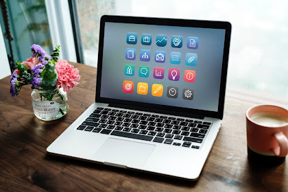 Cara Menambahkan Icon Fonts Awesome Pada Menu Blog