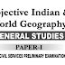 Objective Indian and World Geography by Majid Hussain pdf download