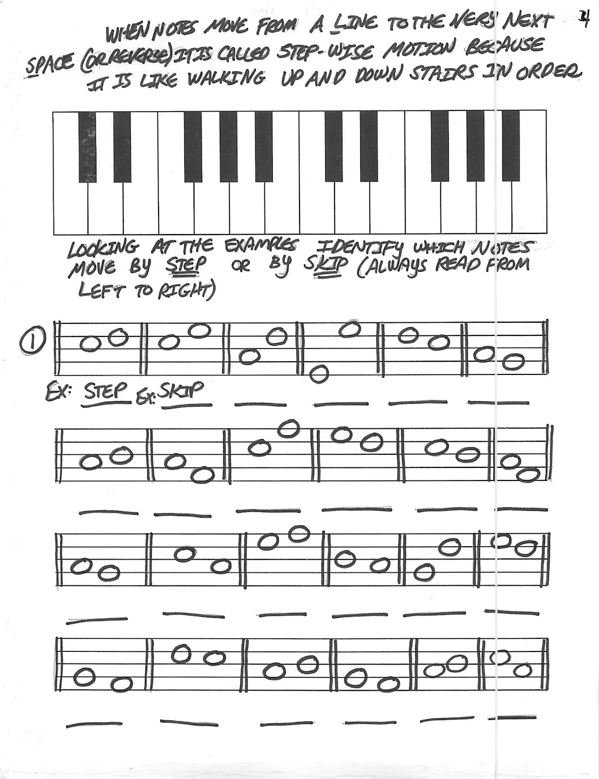 Miss Jacobson S Music Theory 5 Steps And Skips