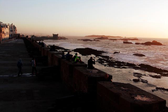 Vistas de la muralla de Essaouira