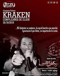 Concierto Tributo Kraken   Cumpleaños Elkin Ramírez...