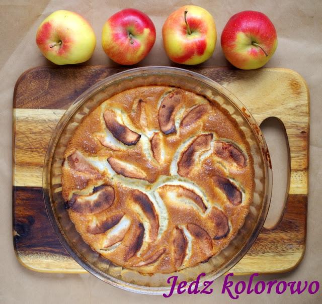 pieczony naleśnik / omlet z jabłkami