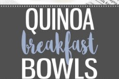 Savory Quinoa Breakfast Bowls Recipe