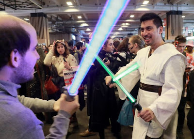 Lightsaber fencing is now an official sport in France