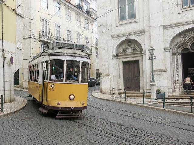 Elétrico 28, em Lisboa