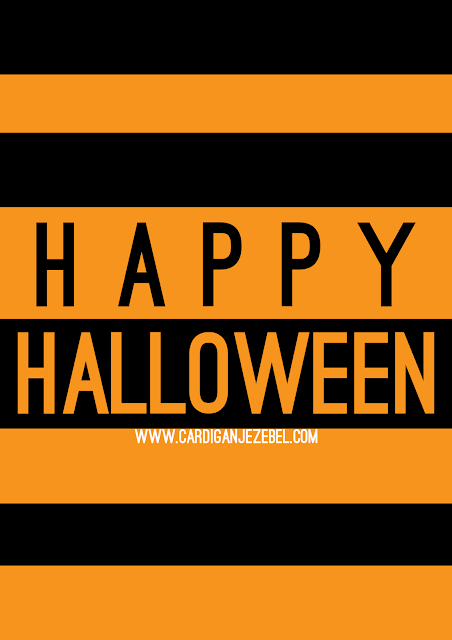 Free Printable Halloween Decoration