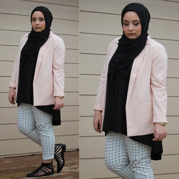 Tips dan Contoh Model Busana Hijab Untuk Tubuh Gemuk ...