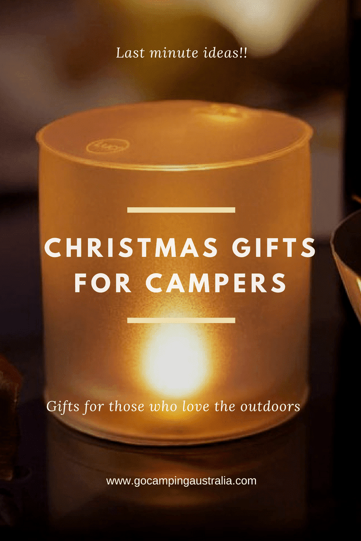 Camping Gift Ideas - Perfect for last minute gifts