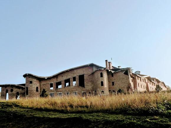 Гошевский Свято-Переображенский монастырь. Строительство гостиницы для паломник