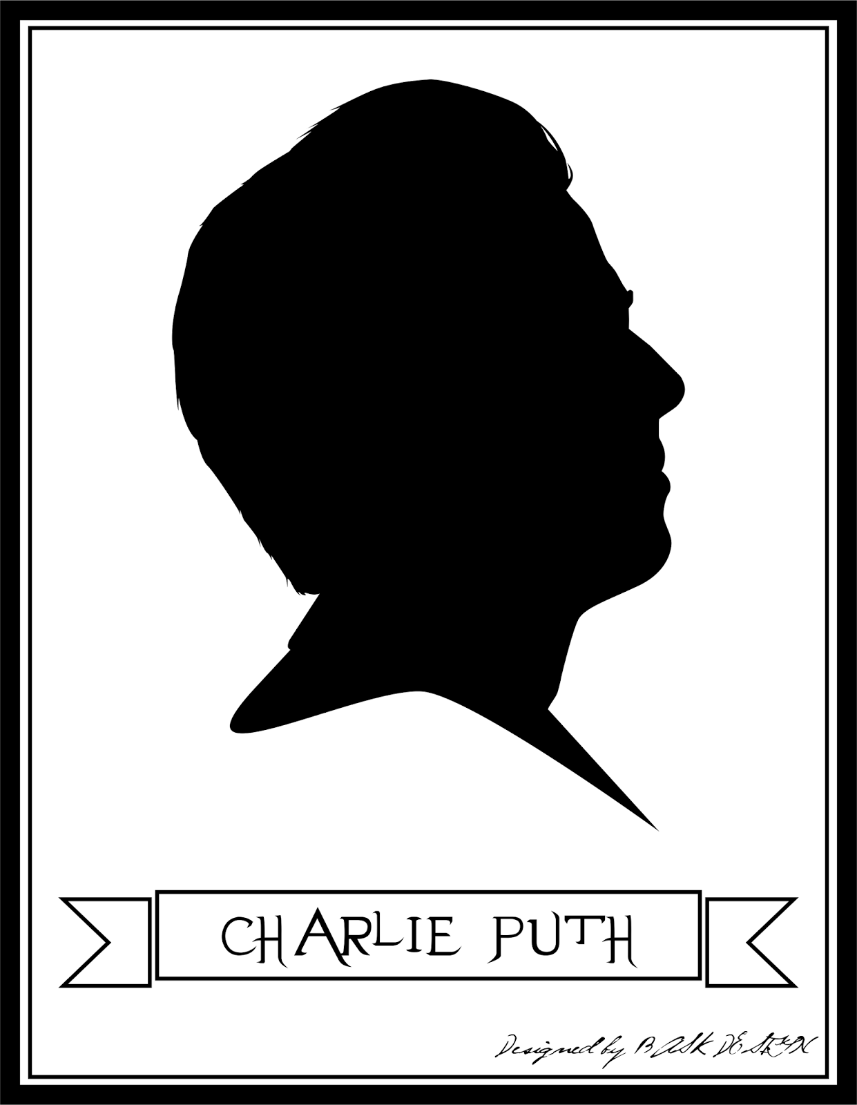 charlie puth in silhouette by beauty aulia beauty aulia charlie puth in silhouette by beauty