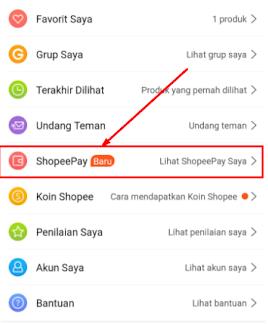 Cara Top Up Saldo Shopeepay