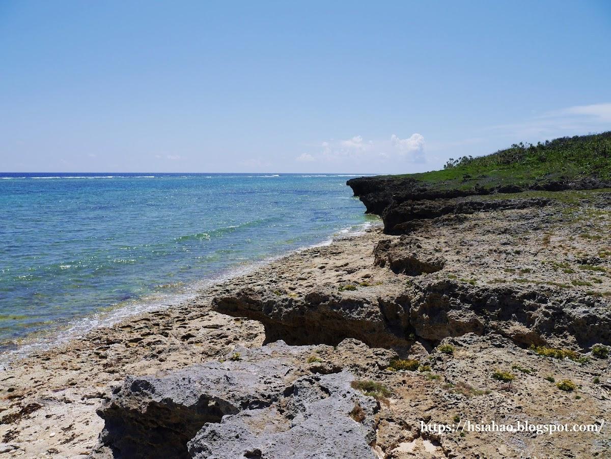 沖繩-景點-離島-外島-久高島-海灘-自由行-旅遊-Okinawa-kudaka-island-beach