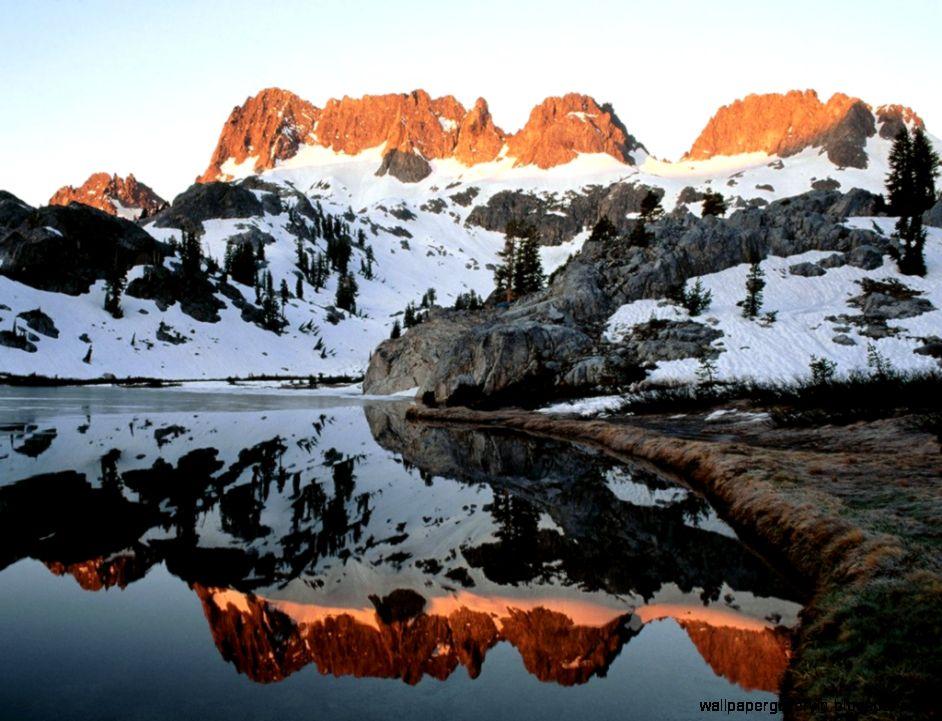 Nature Mountains Nevada Lakes Sierra Creative Photography
