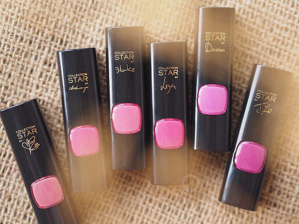L'Oréal La Vie En Rose Lipstick Review & Swatches - Beauty Blogger Indonesia
