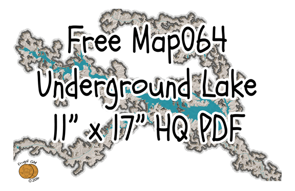 Free Map064: An Underground Lake
