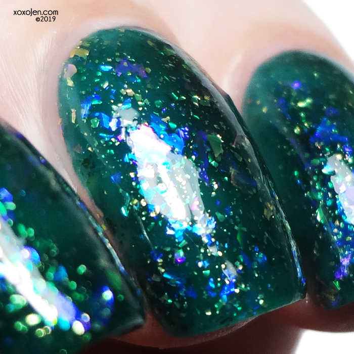 xoxoJen's swatch of Glam Polish Vipera Evanesc