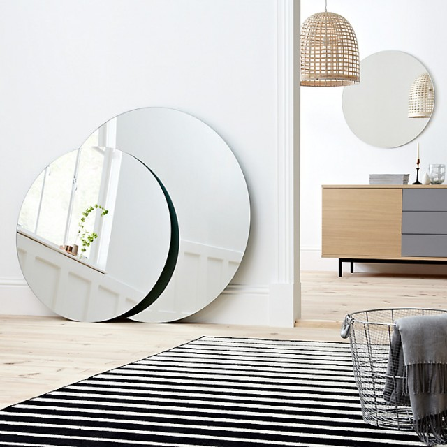 Scandimagdeco le blog id e d co le miroir rond for Miroir rond grand