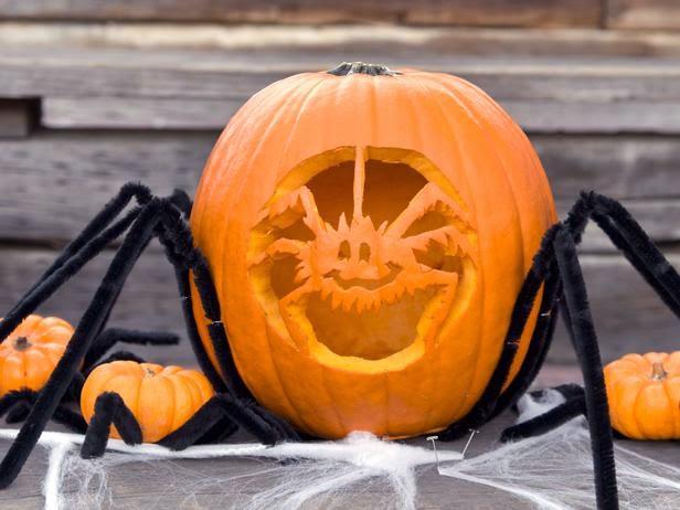 Pumpkin Spider Idea
