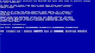 BSOD Windows ReactOS