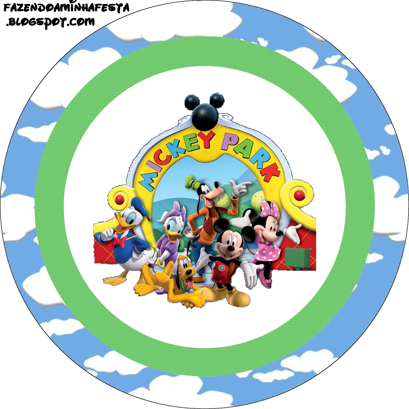 Mickey Clubhouse: Free Printable Candy Buffet Labels. | Oh ...