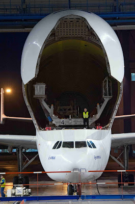 Airbus A300-600ST Unloading Procedure